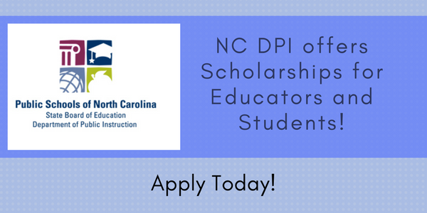 Scholarships For Educators And Students Available