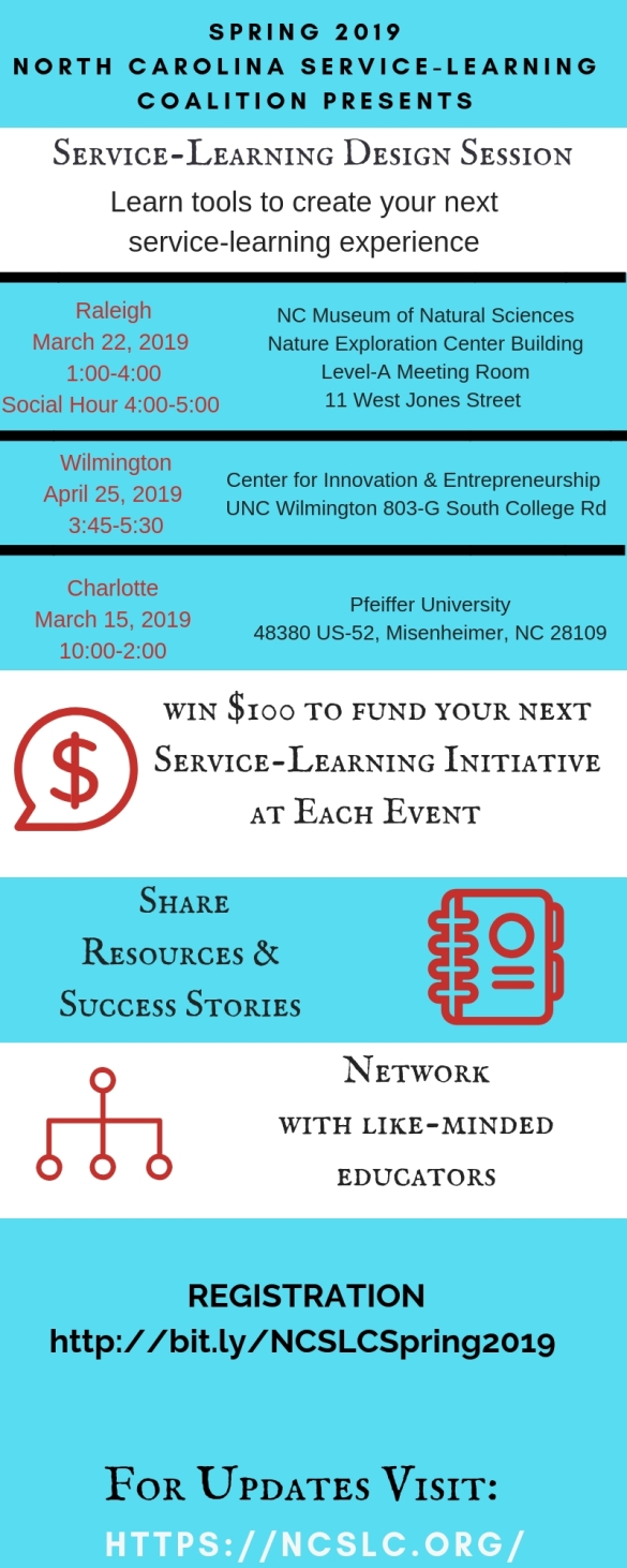 Copy of North CaroiIna Service Learning Coalition Presents